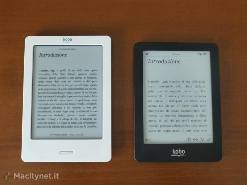 Kobo touch e Kobo glo: in prova gli ebook reader Mondadori
