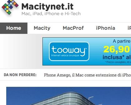 Benvenuti sul nuovo sito di Macitynet.it!