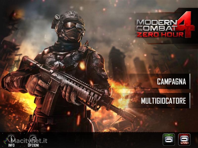 Modern Combat 4: Zero Hour: la recensione dell'ultimo sparattutto Gameloft