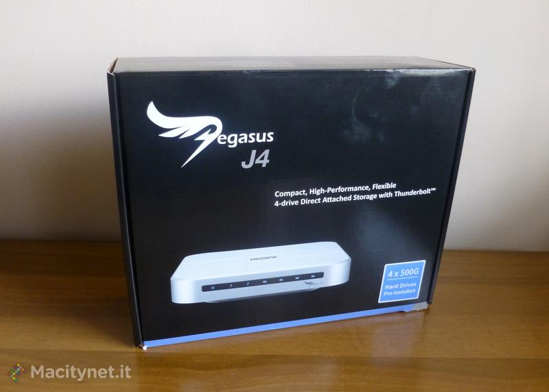 Recensione: Promise Pegasus J4, sistema RAID compatto con Thunderbolt