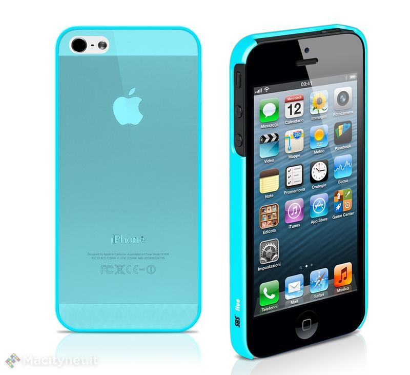 SBS presenta le nuove cover fluorescenti per iPhone 5