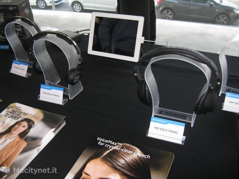 MWC 2012: Sennheiser presenta le nuove cuffie da viaggio per audiofili MM 450-X e MM 550-X