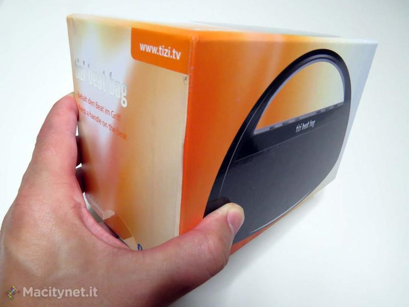 Tizi Beat Bag, piccolo, potente amplificatore Bluetooth disegnato con stile