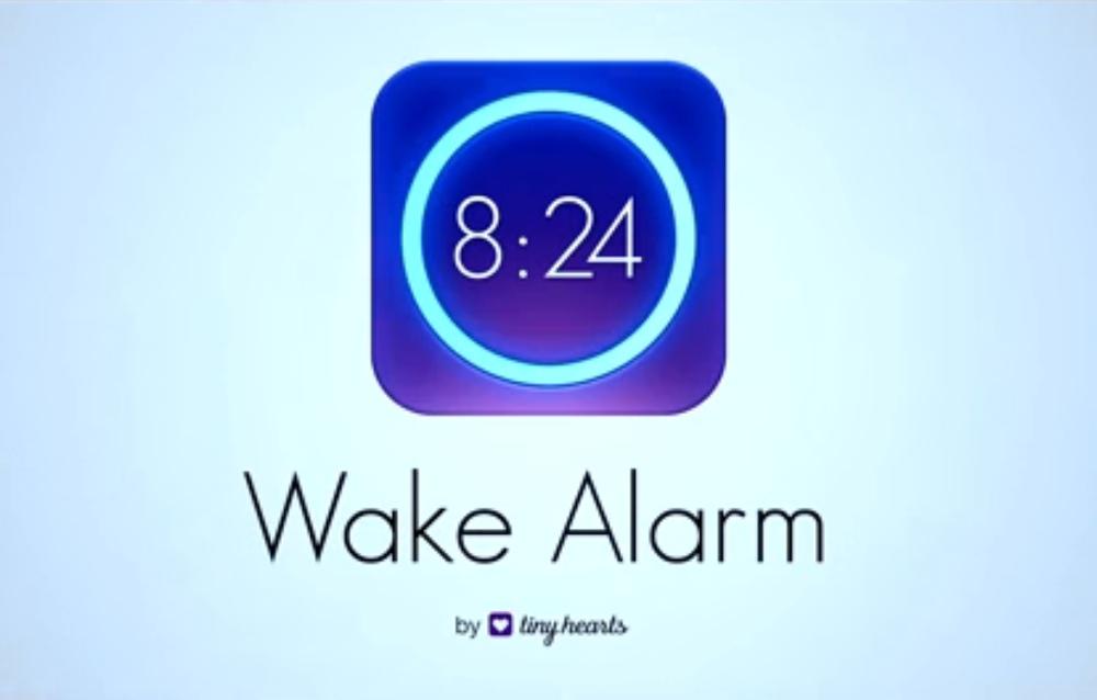 Con Wake Alarm iPhone si trasforma in una sveglia tradizionale