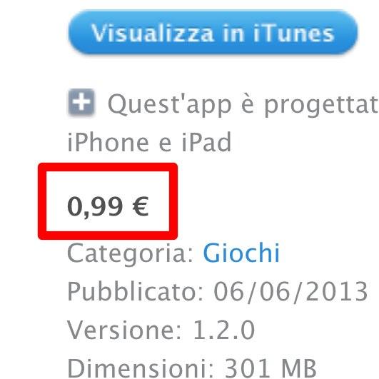 App Store, ora disponibili in Europa applicazioni a 0.99 euro