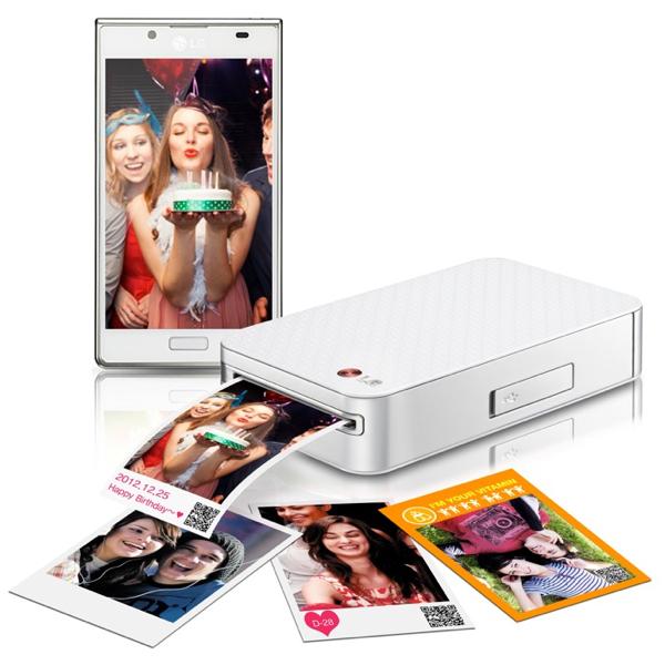 LG Pocket Photo: la stampante tascabile per stampare le foto direttamente da iPhone