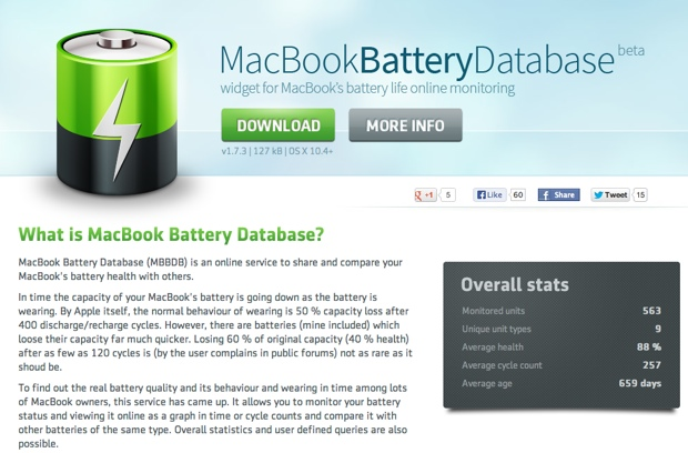 MacBookBatteryDatabase