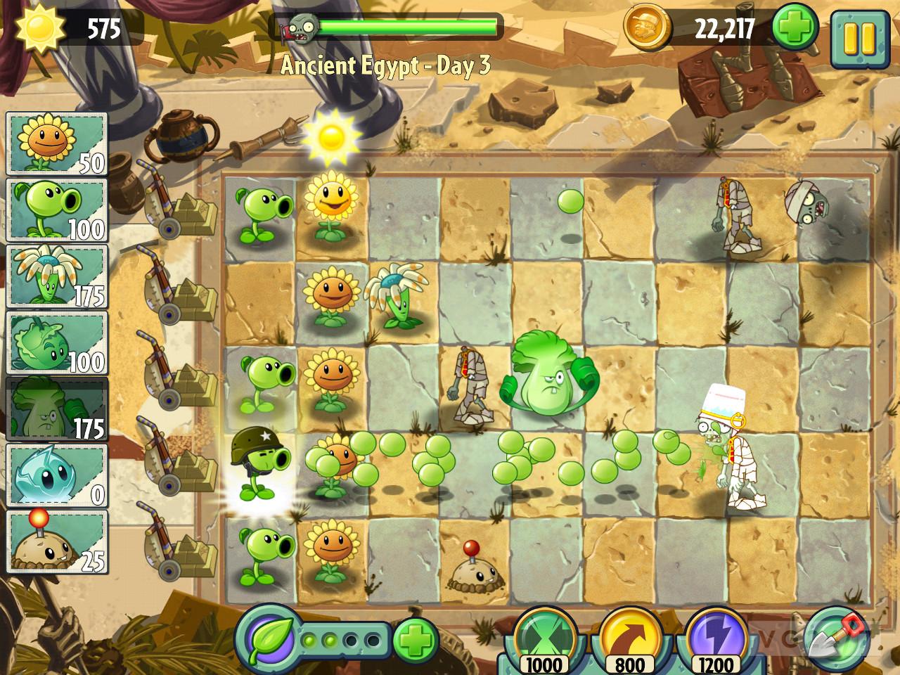 zombies plant 2