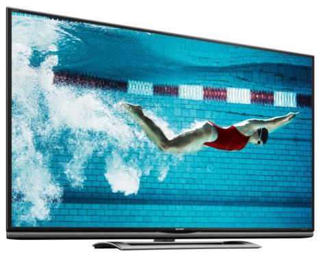 Sharp, in arrivo una TV AQUOS Ultra HD LED da 70″