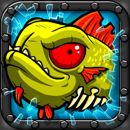 Zombie Fish Tank: la vendetta del pesciolino zombi da Chillingo per iOS