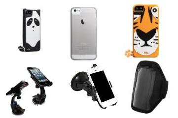 Amazon: vetrina con tanti accessori per iPhone 5
