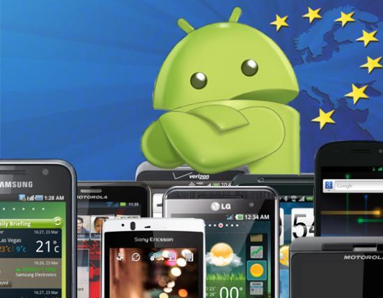 Android e Samsung conquistano l'Europa degli smartphone