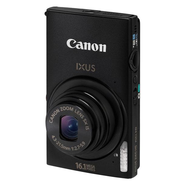 Canon IXUS 240HS, la 16  megapixel che parla via Wi-Fi con iPhone, iPad e Facebook