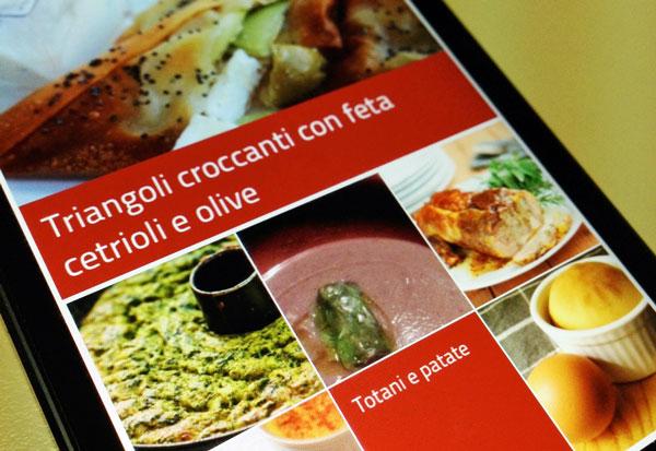 Cucchiaio d'Argento, cucina di classe con iPhone