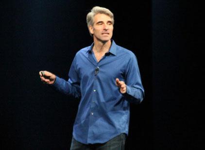 Craig Federighi, alla WWDC è nata una nuova star