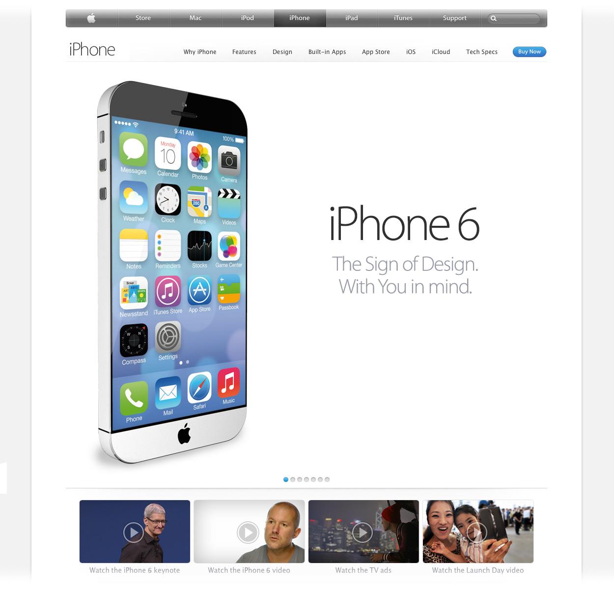 iPhone 6: ecco come saru00e0 e le funzioni offerte nel nuovo concept di ...