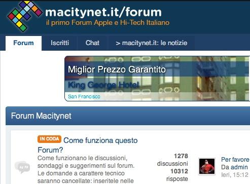 il Forum rinnovato di macitynet.it: un potente strumento per la comunità Apple