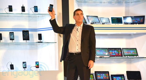 Intel, un piattaforma per smartphone e tablet di nuova generazione