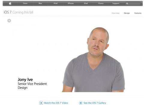 iOS 7 Ive video