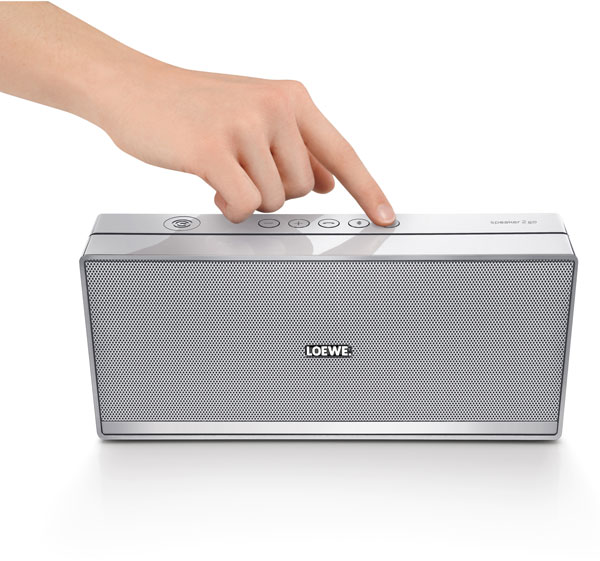 Speaker2Go di Loewe, elegante mini amplificatore Bluetooth