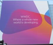 WWDC 2013: la fotogalleria con tutti i dettagli dell'allestimento Apple