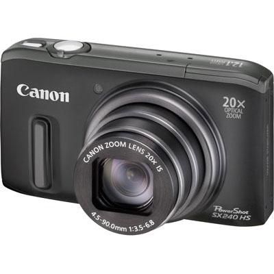 Canon SX240 HS, superzoom 20X solo 167 euro su Amazon