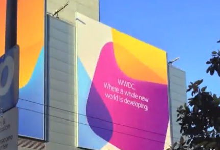 Allestimento WWDC 2013: il video