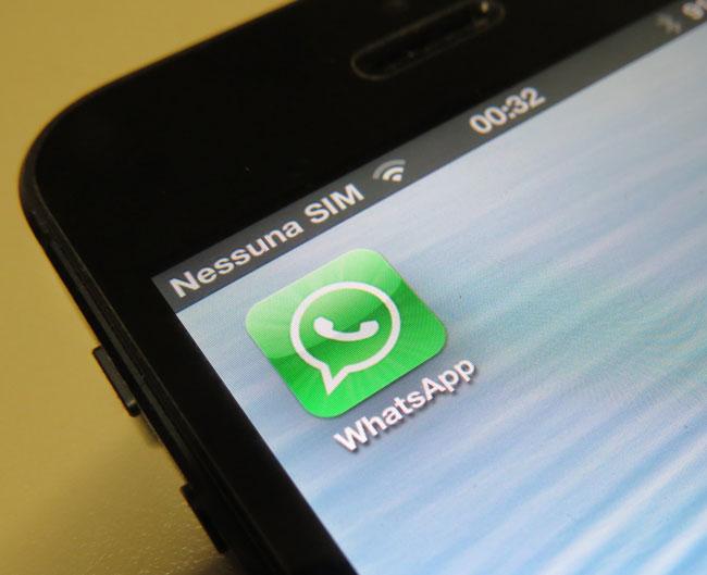 supporto whatsapp