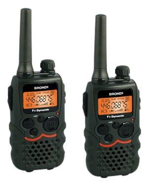 Brondi FX-Dynamics, walkie talkie per non spendere in telefonate: 60 euro