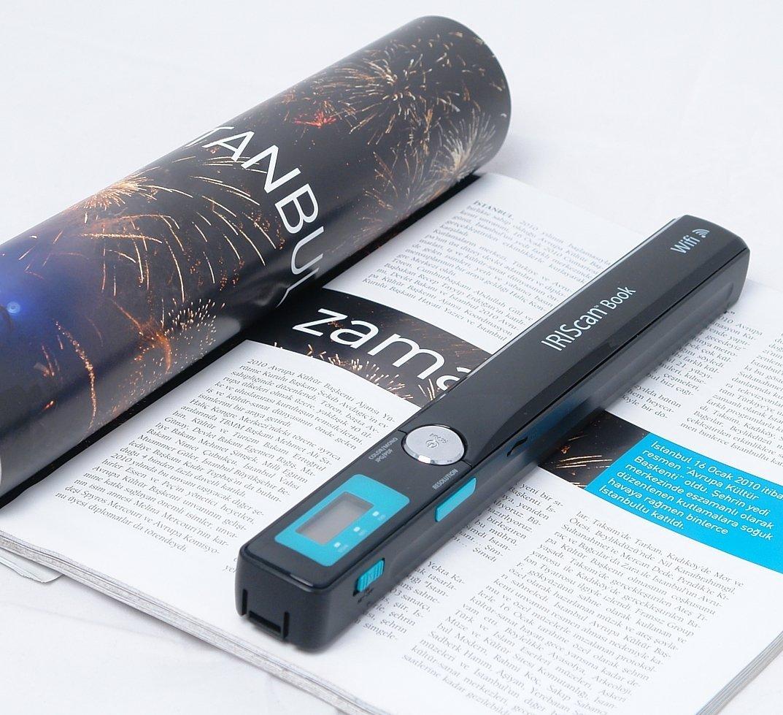 Iriscan Book Executive 3, recensione dello scanner OCR portatile Wi-Fi