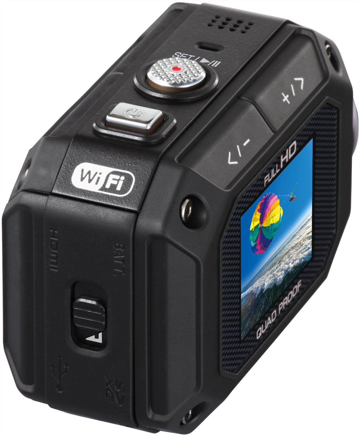 JVC GC-XA1 Adixxion, Action Cam Wi-Fi compatibile iPhone: solo 139 euro