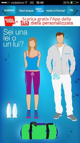 App per bere acqua