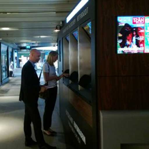 In Svezia arriva Meganews il chiosco self service per stampare riviste e quotidiani