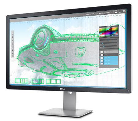 """Dell UltraSharp il nuovo monitor professionale Ultra HD da 32"""""""