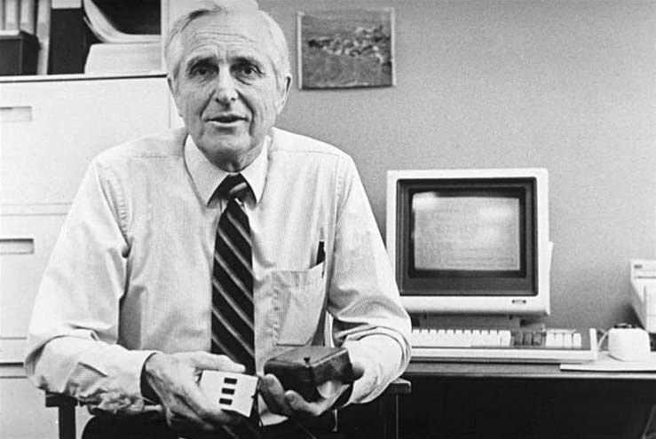 Douglas C. Engelbart, inventore del mouse