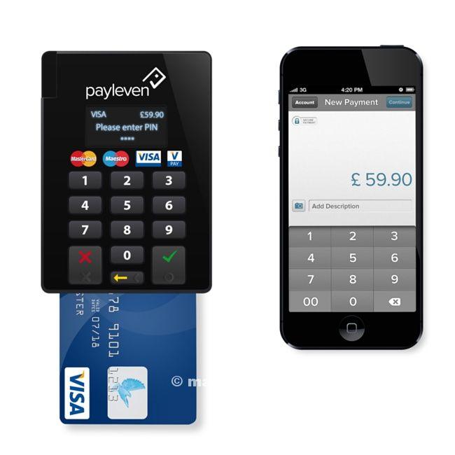 Payleven, pagamento bancomat e carte di credito ovunque, su Apple Store