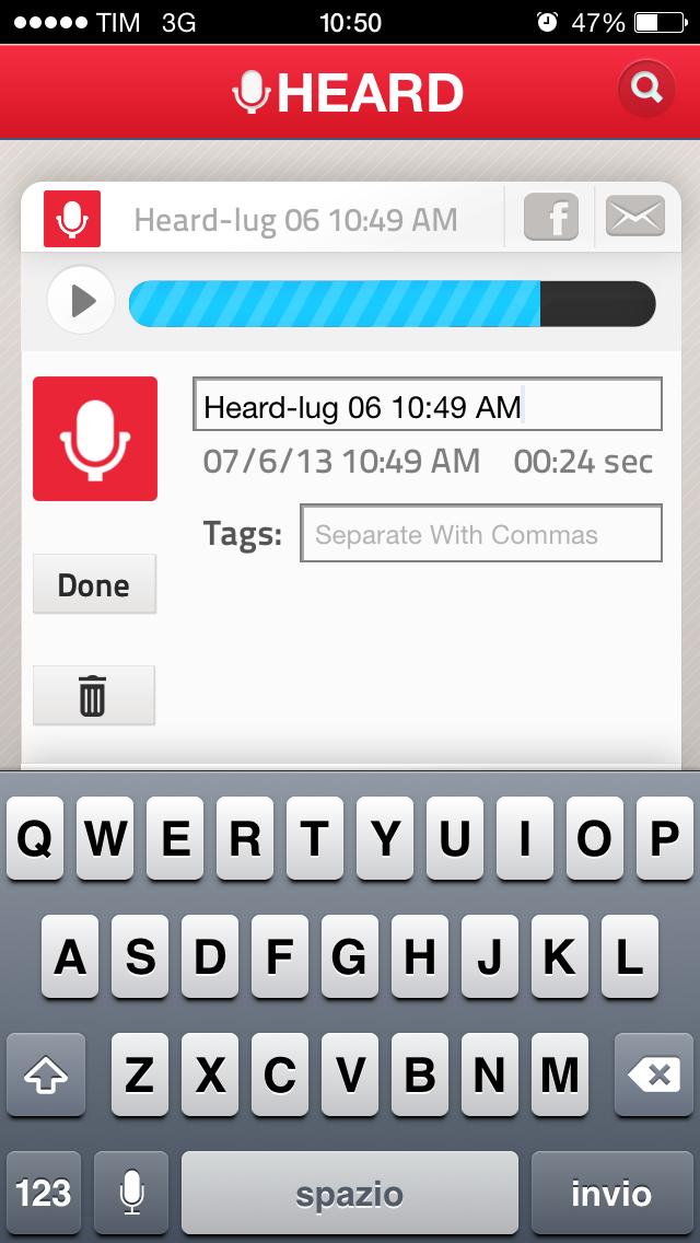 Heard ascolta e registra su iPhone quel che accade intorno a voi in continuo usando iPhone