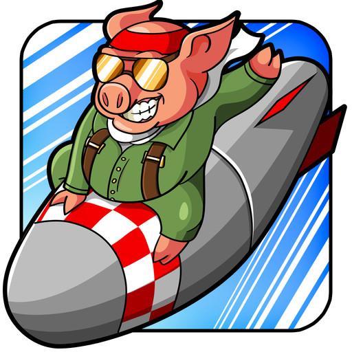 Kamikaze Pigs, una guerra tra suini kamikaze su iPhone e iPad