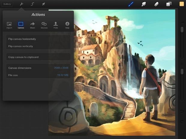 Procreate iPad guadagna un nuovo strumento di selezione a mano libera