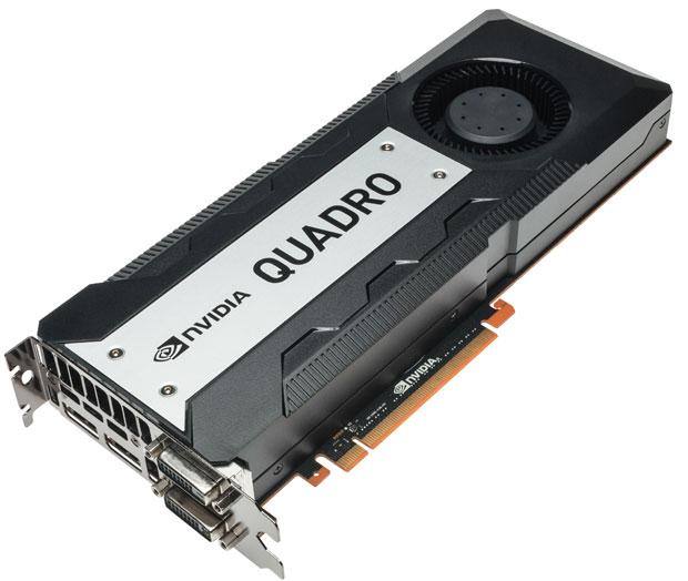 Nvidia Quadro K6000, una scheda video da 5,2 Teraflops