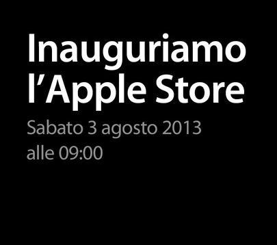 Apple Store Rimini: apertura sabato 3 Agosto alle 9