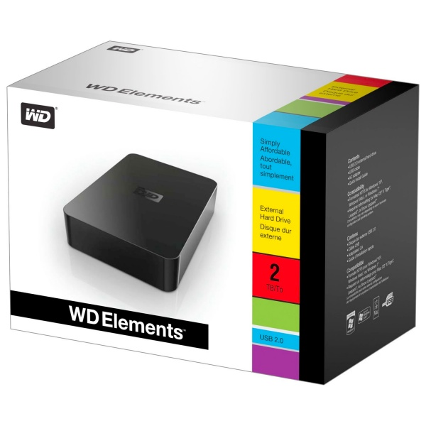 WD Elements 2TB, su Amazon solo 87 euro spedizione inclusa