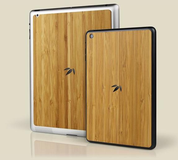 Bamboo Back per iPad e iPad mini, il dorso di bamboo di Grove