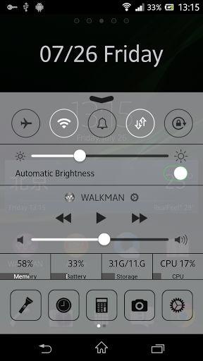 Control Center, clone della funzione di iOS 7 per Android rimossa su richiesta di Apple
