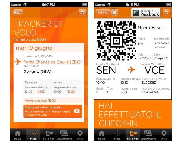 Easyjet flight tracker e ispirami i nuovi servizi per gli for Interno easyjet