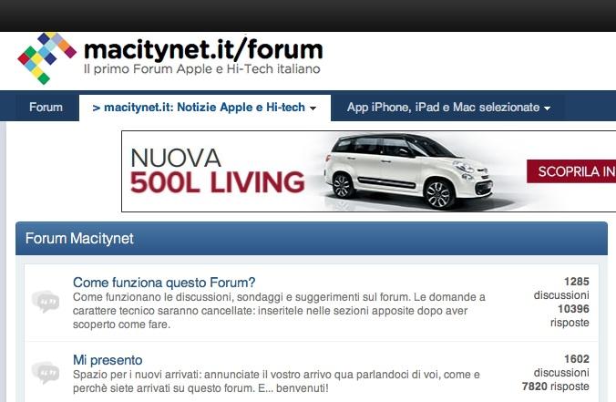 Il Forum di Macitynet e FaceBook: ora è più facile trovare aiuto su Apple e Hi-Tech