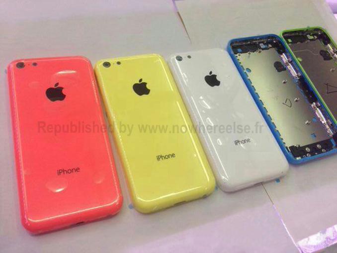Emergono nuovi colori dell'iPhone low cost