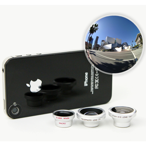 Lenti per iPhone per macro, grandangolo e fisheye, offerta StackSocial