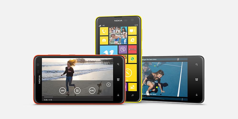 Nokia Lumia 625: grande schermo, prezzo ridotto