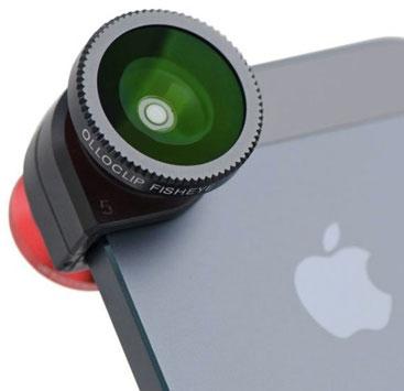 Con Olloclip, fish eye, grandangolo e macro su iPhone a 74,90 euro